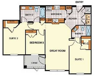 Santa Cruz condo floorplan