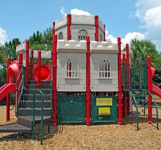 kids playground castle