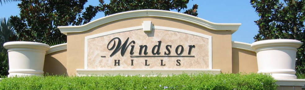 Windsor Hills Entrance